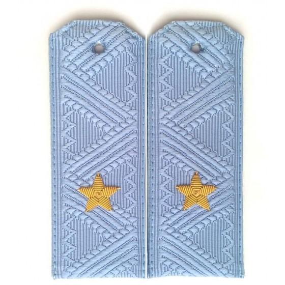Погоны генерал-майор ФСБ на синюю рубашку повседневные