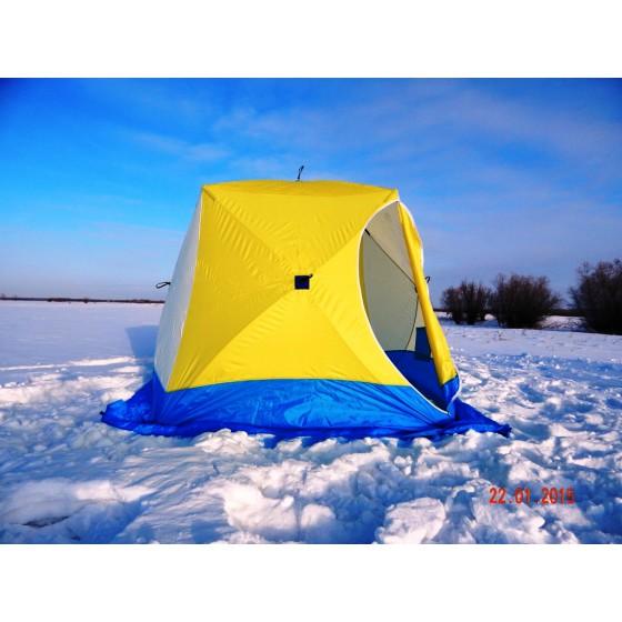 Палатка для зимней рыбалки Стэк Куб-3