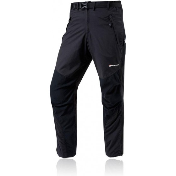 Брюки женские TERRA PANTS, L black, FTEPABLAN0