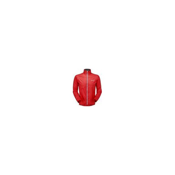 Куpтка муж. FEATHERLITE VELO JACKET, L red, MFEVEREDN6