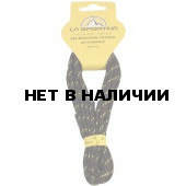 Шнурки LACE MOUNTAIN RUNNING 12 пар Black/Yellow, 9MRBY