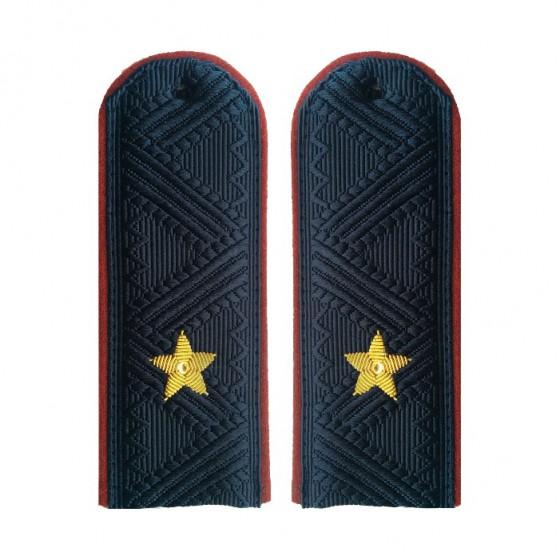 Погоны генерал-майор ФСИН с хлястиком повседневные