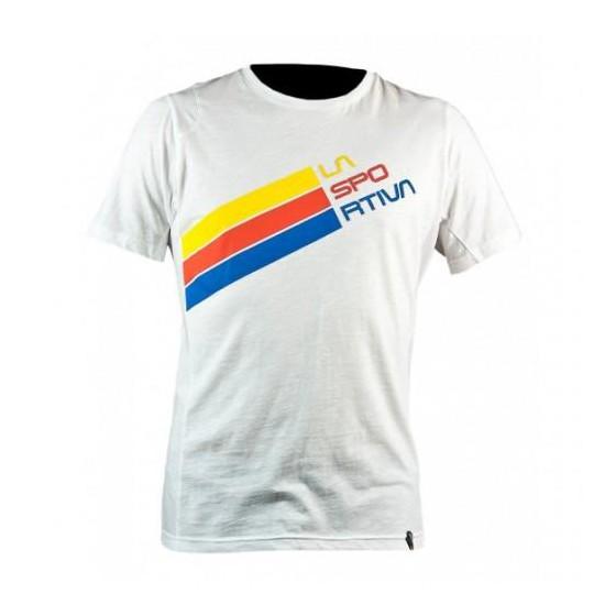 Футболка Stripe Logo T-Shirt W White, I06WH