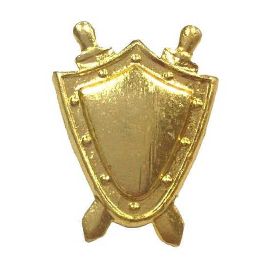 Эмблема на погоны Прокуратура золото металл малая