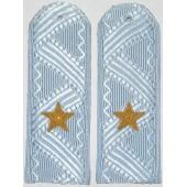 Погоны генерал-майор Полиции на серо-голубую рубашку повседневные