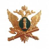 Эмблема на тулью ФССП нового образца