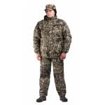 Костюм мужской Турист 1 зимний, камуфляж алова Камыш