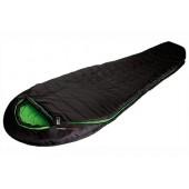 Мешок спальный Pak 1300 чёрный/зелёный, 23313