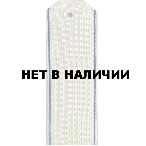 Погоны ФСБ Рядовой белые