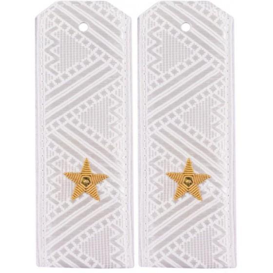 Погоны генерал-майор ВДВ-ВВС на белую рубашку повседневные