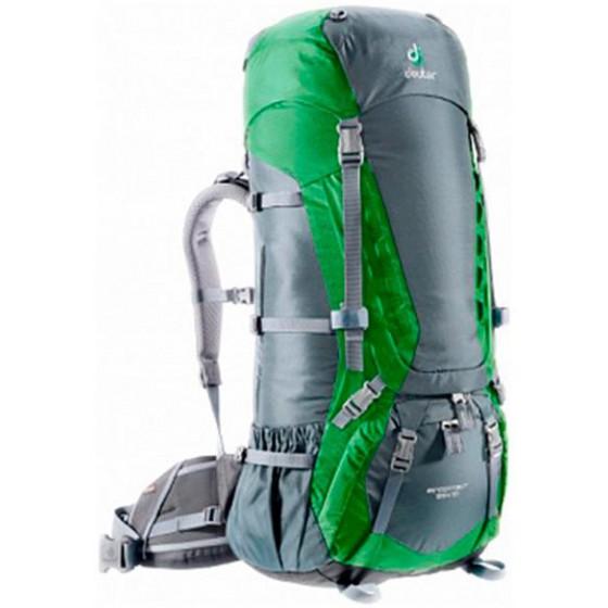 Рюкзак Deuter 2015 Aircontact 65 + 10 grante-emerald