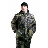 Костюм мужской Турист 1 зимний, камуфляж алова Желтая глина