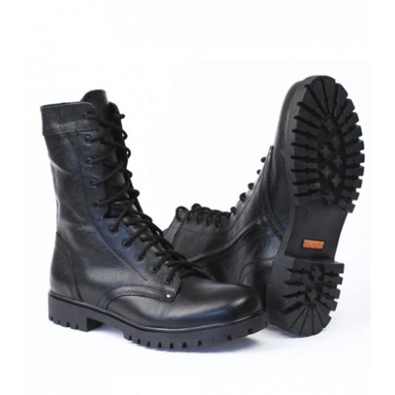 """Ботинки с высоким берцем Трек """"BIZON"""" с молнией, кожа хром """"Флотер"""""""