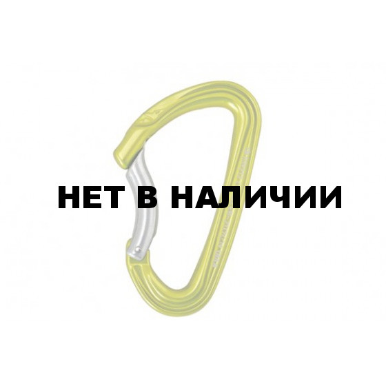 КАРАБИН Б/МУФ C ГНУТОЙ ЗАЩЕЛКОЙ SPIDER COUDE