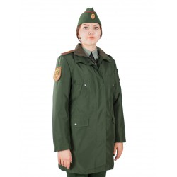 Куртка женская демисезонная МПА-59 (зеленый/рип-стоп)