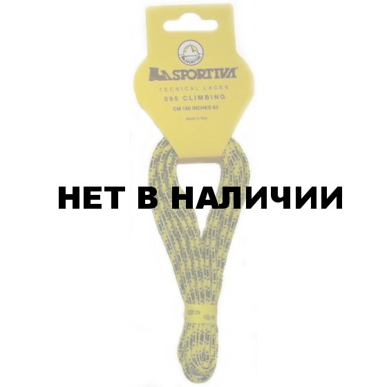 Шнурки CLIMBING 160 12пар Yellow, 095