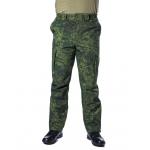 Брюки МПА-28 (ткань Софтшелл), камуфляж зеленая цифра