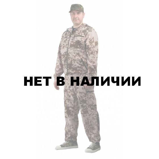 """Костюм мужской """"Турист 1"""" летний, ткань Тиси сорочечная-облегченная, камуфляж """"Тропик"""""""