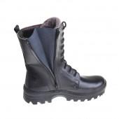 Зимние ботинки с высокими берцами АВИАТОР кожа-меринос 713