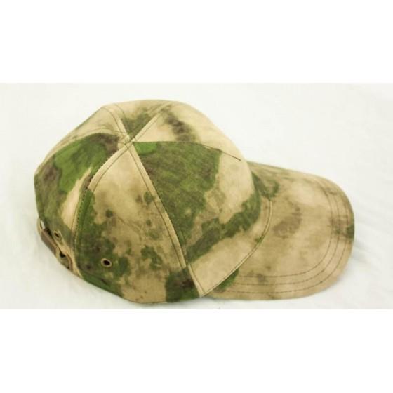 Бейсболка МПА-15-01 мох, ткань Мираж