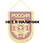 Вымпел ВБ-34 Россия ВВ МВД вышивка