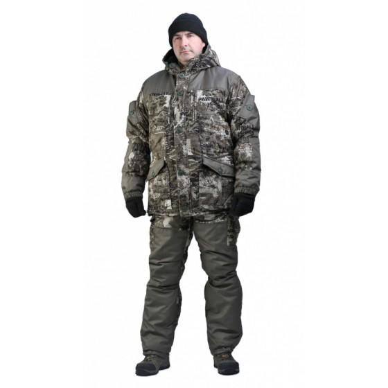 Костюм мужской Nordwig Donbass зимний, камуфляж т.Алова Пенбол хаки
