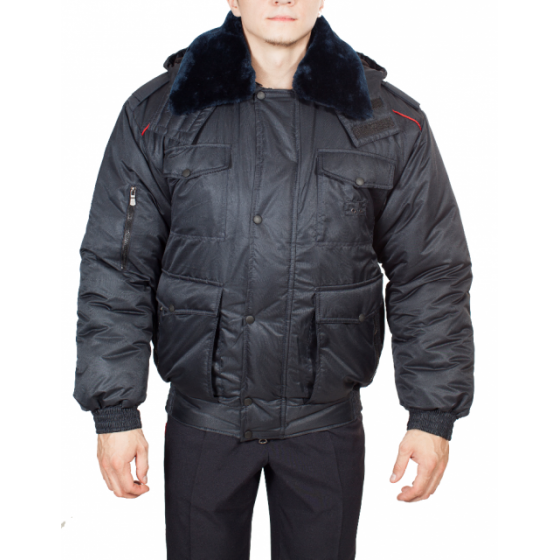 Куртка ПОЛИЦИЯ всесезонная укороченная (твил/файбертек)