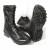Ботинки с высоким берцем УТКА BIZON с молнией, кожа хром Флотер