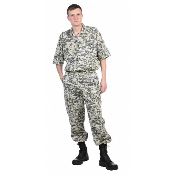 """Рубашка мужская """"Сафари"""" 100% хлопок"""