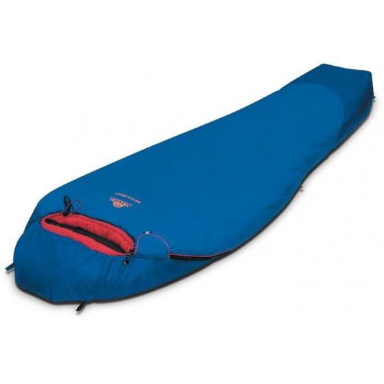 Мешок спальный MEGALIGHT синий, левый