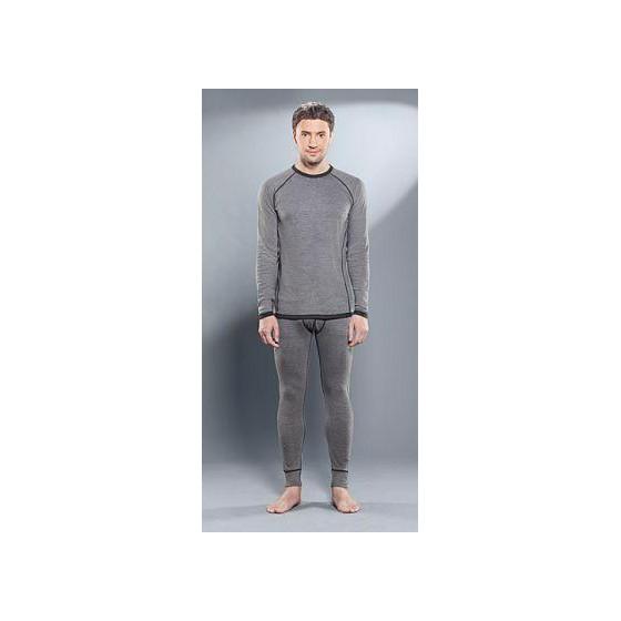 Комплект мужского термобелья Guahoo: рубашка + кальсоны (22-0410-S/MGY / 22-0410-P/MGY)