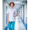 Комплект одежды медицинской женской Лиза (блуза и брюки)