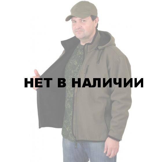Куртка мужская Sarma с капюшоном С 041-1 олива