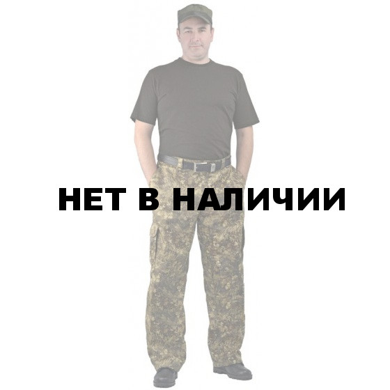 """Брюки мужские """"Захват"""", камуфляж, ткань грета """"кора"""""""