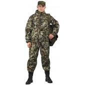 Костюм мужской Турист 1 летний, камуфляж, ткань Грета Зелёная сетка