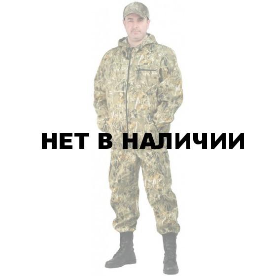 "Костюм мужской ""Турист 1"" летний, камуфляж, ткань грета ""Камыш"""