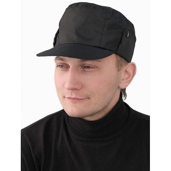 "Кепка ""Охрана"" утепленная черная"