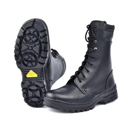 """Ботинки с высоким берцем """"Витязь"""" арт.65М на искуственном меху"""