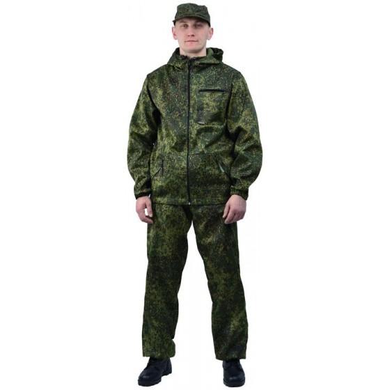 """Костюм мужской """"Турист 1"""" летний, камуфляж, ткань грета """"Пиксель"""""""