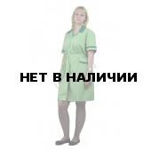Халат женский Прибой салатовый с т-зеленым