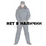 Куртка мужская Охрана зимняя темно-синяя