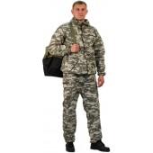 """Костюм мужской """"Турист 1"""" летний, камуфляж, ткань грета """"Светло-серая цифра"""""""