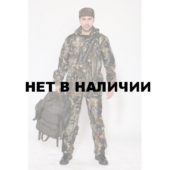 """Костюм мужской """"Филин"""" демисезонный, камуфляж, ткань Полофлис """"Светлый лес"""""""
