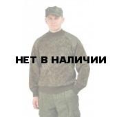 """Свитер """"цифра"""" с накладками п/ш ворот (U)"""