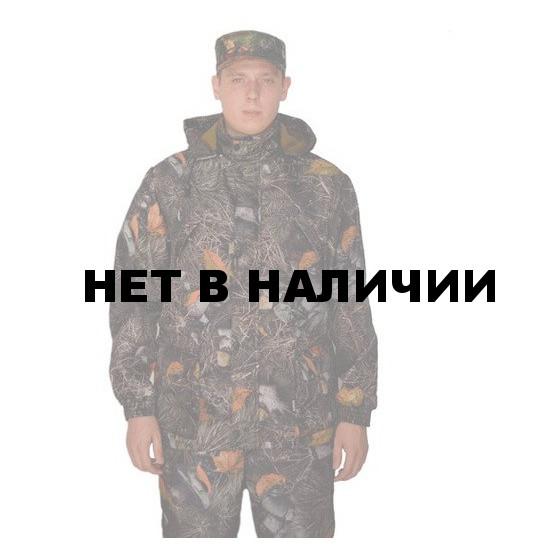 """Костюм мужской """"Филин"""" демисезонный, камуфляж, ткань Полофлис """"Серебряный дуб"""""""