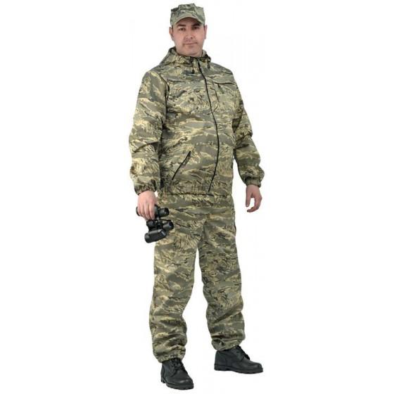 "Костюм мужской ""Турист 1"" летний, камуфляж, ткань грета ""Серый легион"""