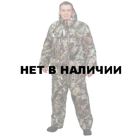 """Костюм мужской """"Буран"""" зимний, камуфляж т.Твилл """"Камыш"""""""