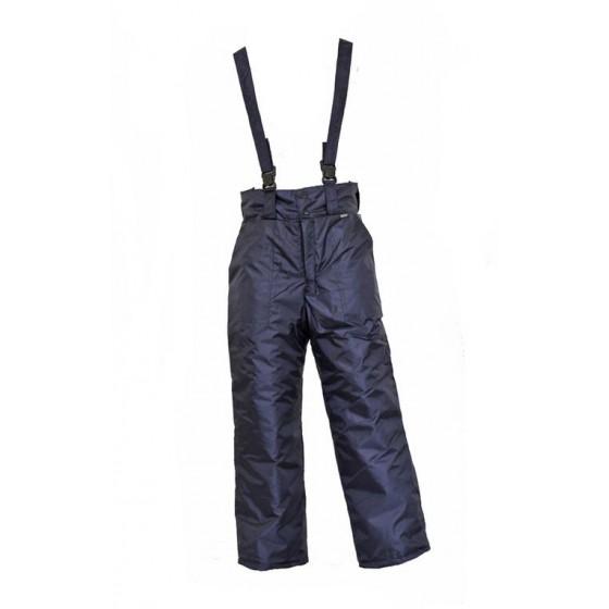 Брюки мужские зимние т-синие, ткань Оксфорд