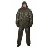 "Костюм мужской ""Nordwig Donbass"" зимний, камуфляж т.Алова ""Сухой лес"""