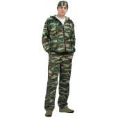 Костюм трикотажный ТИР, камуфляж куртка + брюки 100%х/б